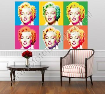 Muurposter Visions of Marilyn