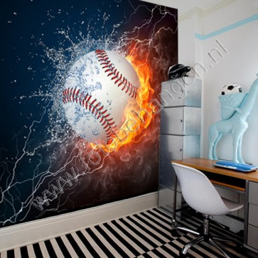 Fotobehang Baseball