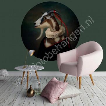 Behangcirkel Classy goat