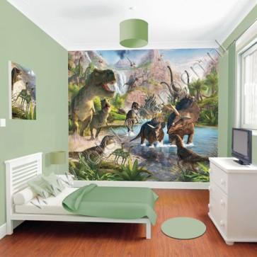 Dinosaurusbehang