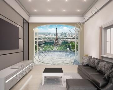 Fotobehang Eiffeltoren Parijs