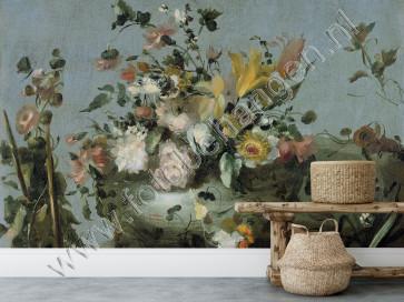 Fotobehang Boeket bloemen