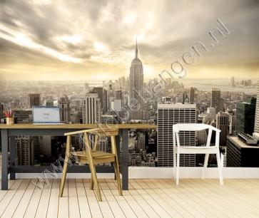 Vlies fotobehang Lucht van Manhattan