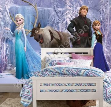 Vlies fotobehang Frozen 2