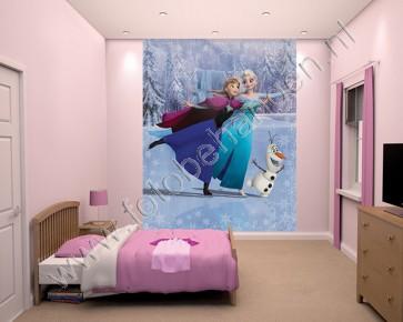 Fotobehang van Disney film Frozen
