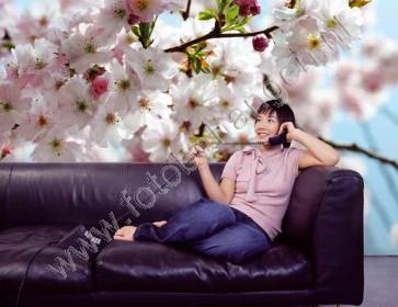 Fotobehang Spring