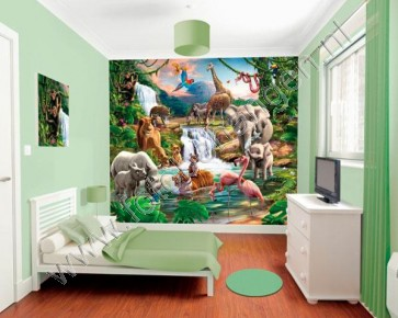 Walltastic Junglekamer XXL