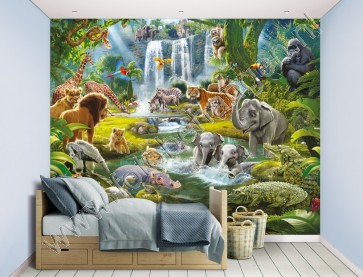 Walltastic Jungle Adventure XXL