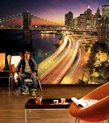 Fotobehang New York City Lights