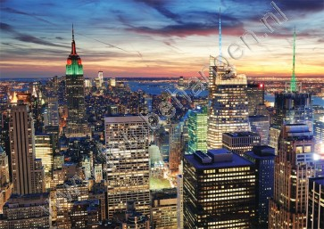 Fotobehang New York City Skyline