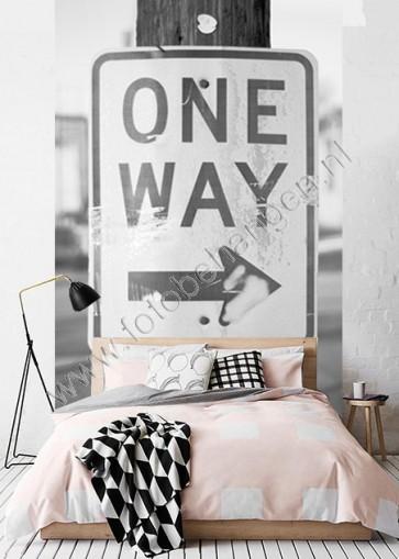 Vlies fotobehang One Way