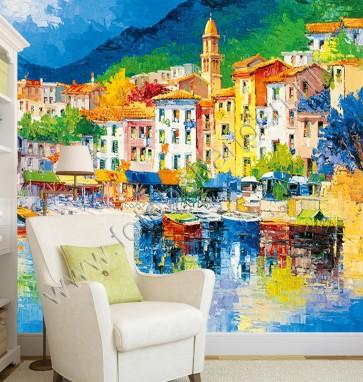 Fotobehang Riviera
