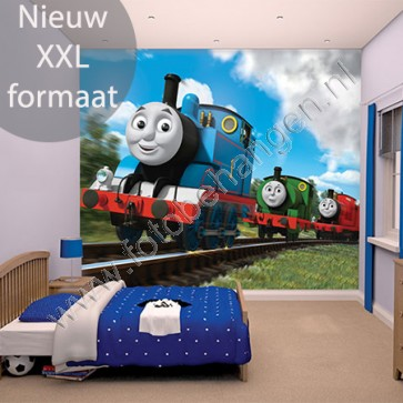 Walltastic Thomas de trein XXL