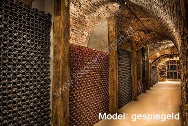 Vlies fotobehang ondergrondse wijnkelder fotobehangen