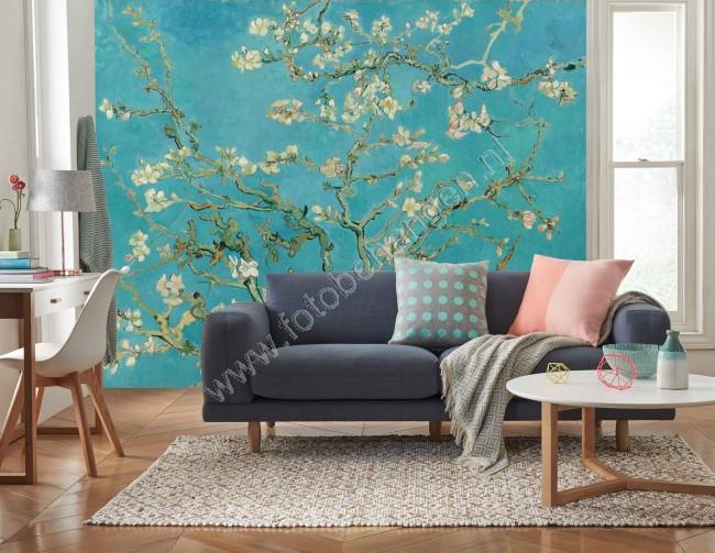 Van Gogh Behang : Vlies fotobehang amandelbloesem fotobehangen