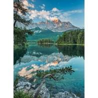 Fotobehang Mirror lake