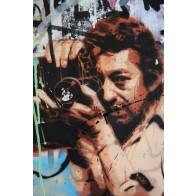 Vlies fotobehang graffiti fotograaf