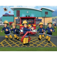 Walltastic Brandweerman Sam XXL
