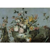 Vlies fotobehang Boeket bloemen