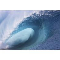 Vlies fotobehang Golven aan zee
