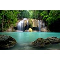 Vlies fotobehang Watervallen Thailand