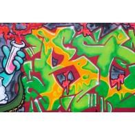 Vlies fotobehang Straatkunst graffiti