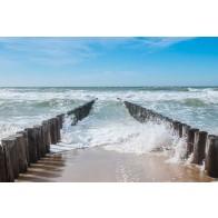 Vlies fotobehang Uitzicht op zee