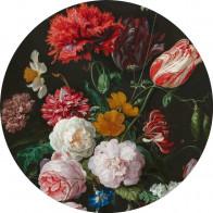 Behangcirkel Still life with flowers