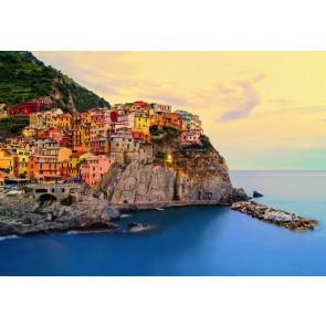 Fotobehang Cinque Terre Coast