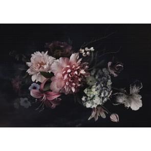 Vlies fotobehang Vintage flowers
