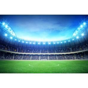 Vlies fotobehang Voetbalveld