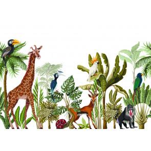 Vlies fotobehang Jungle dieren