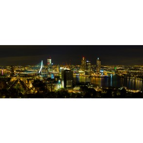 Vlies fotobehang Skyline Rotterdam