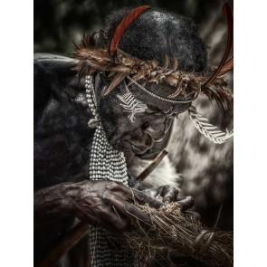 Vlies fotobehang Tribe