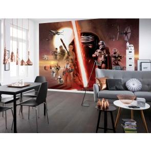 Fotobehang  Star Wars EP7 Collage