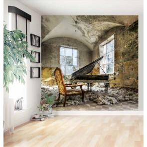 Vlies fotobehang Oude piano