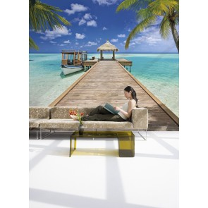 Fotobehang Beach resort