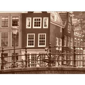Vlies fotobehang Amsterdam