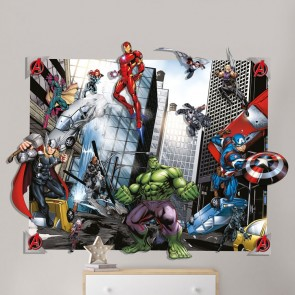 Walltastic Avengers Pop Out behang