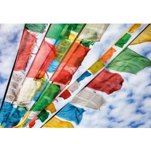 Muurposter Prayer Flags
