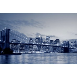 Vlies fotobehang Skyline Brooklyn Bridge