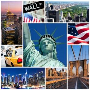 Vlies fotobehang Highlights New York