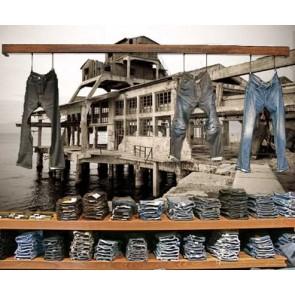 Vlies fotobehang Verlaten Fabriek