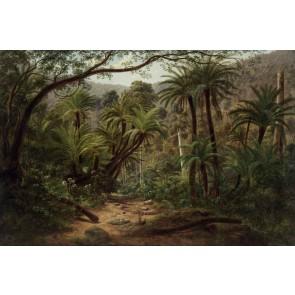 Vlies fotobehang Tropisch landschap