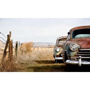 Vlies fotobehang Antieke auto