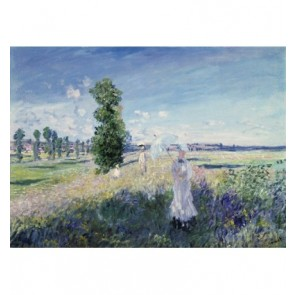 Fotobehang The Walk Monet