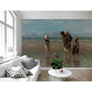 Vlies fotobehang Kinderen der zee