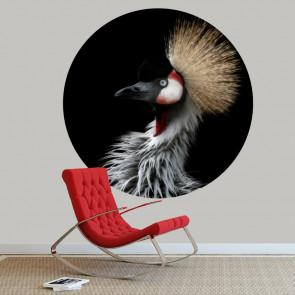 Behangcirkel Kraanvogel 2