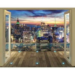 Walltastic New York City Skyline XXL