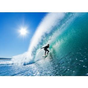 Vlies fotobehang Surfen in de oceaan